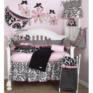 Girly 7 Piece Crib Bedding Set