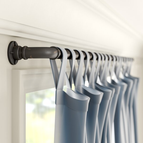 Industrial Shower Curtain Rod