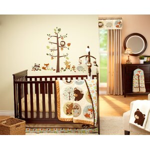 Friends 4 Piece Crib Bedding Set