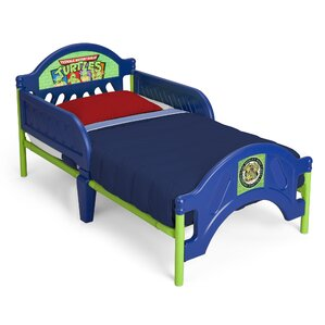Ninja Turtles Toddler Bed by Delta Children