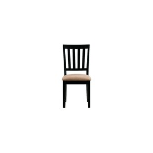 Salyer Soft Padded Solid Wood Dining Chair (Set of 4)