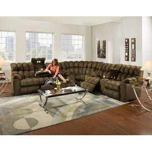 Harrold Reclining Sectional  sc 1 st  Wayfair : micro fiber sectionals - Sectionals, Sofas & Couches
