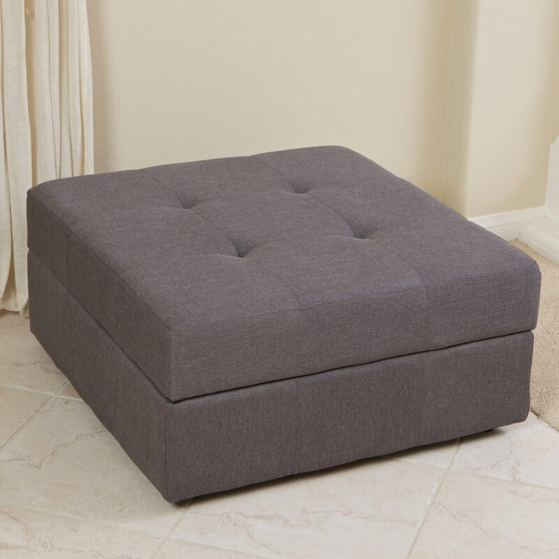 Three Posts Baronets Storage Ottoman & Reviews | Wayfair