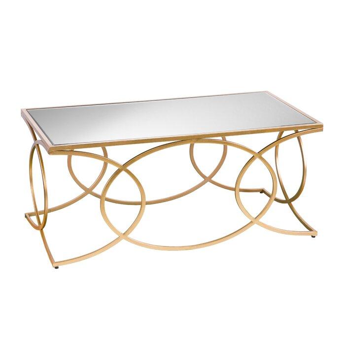 Dunlin Geometric 2 Piece Coffee Table Set