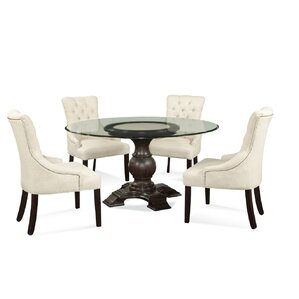 Ahearn 5 Piece Dining Set by Darby Home Co