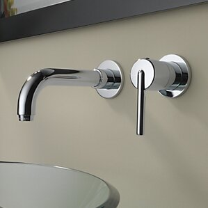 wall mounted bathroom sink faucets
