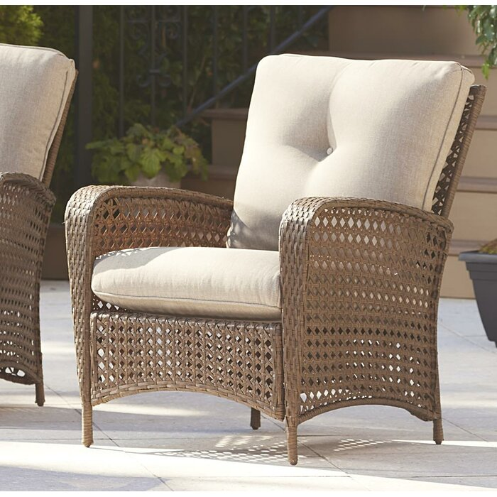 Edwards Patio Chair With Cushion