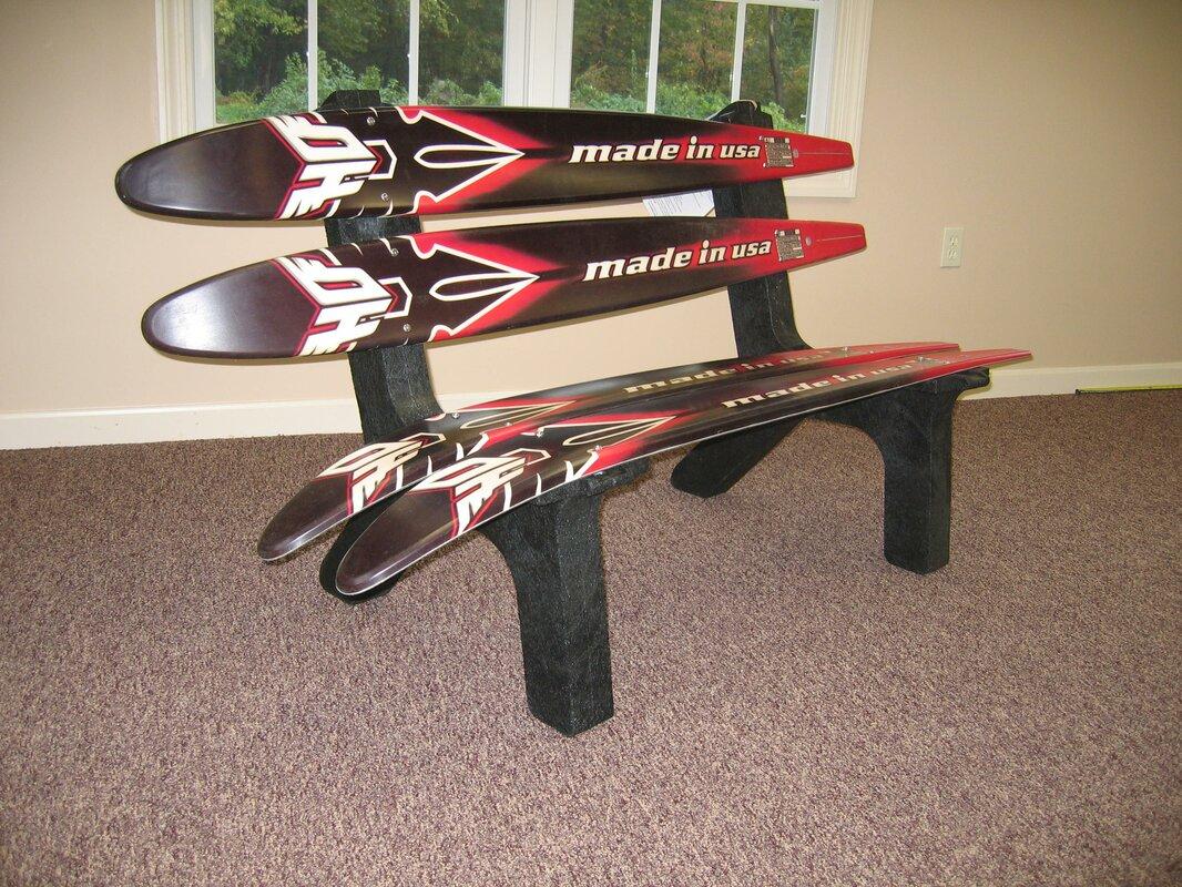ski chair water recycled plastic garden bench & reviews | wayfair