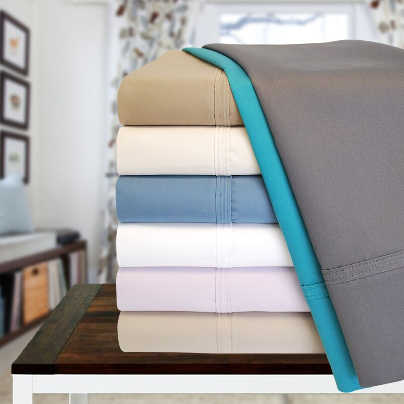 6 Piece 1000 Thread Count 100% Cotton Sheet Set