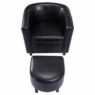 Braintree Leisure Modern Leather Armchair