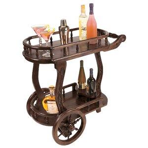 Pemberton Cordial Caddy Bar Cart