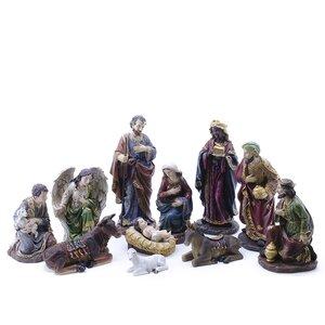 11 Piece Nativity Figurine Set