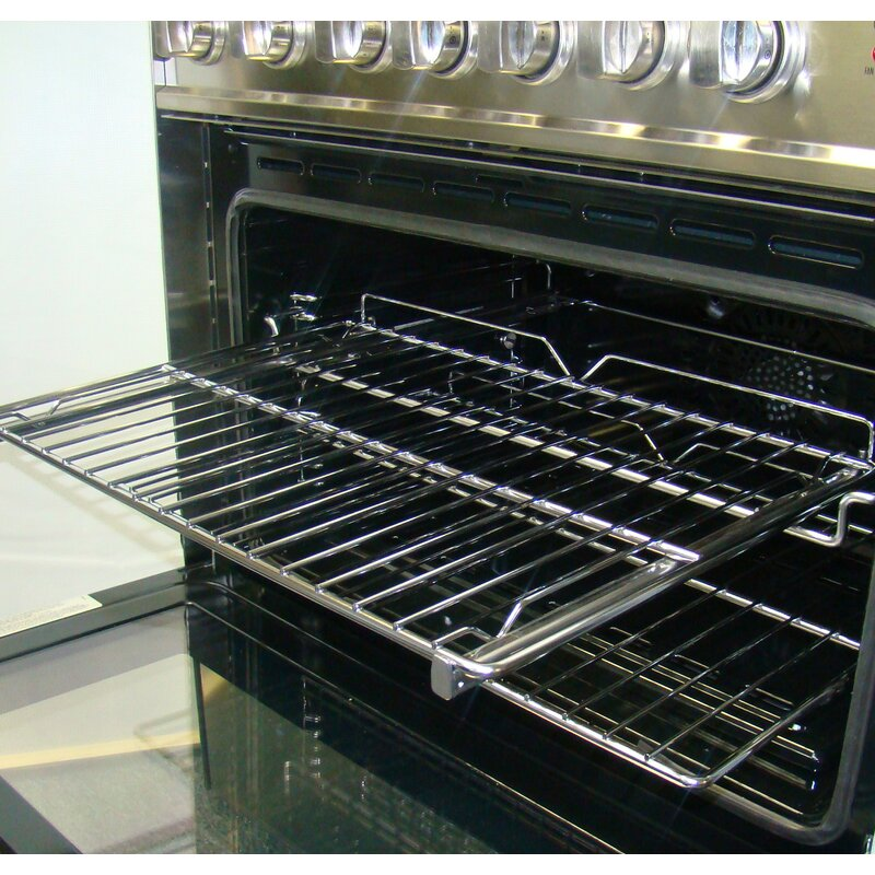 Easy Glide Rolling Rack For 36 Single Oven