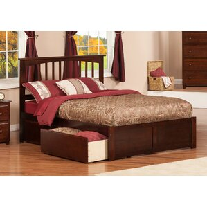 Deandre Traditional Wood Storage Platform Bed by Viv + Rae