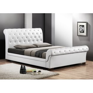 upholstered leather sleigh bed. Save Upholstered Leather Sleigh Bed E