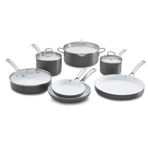 Classic Ceramic 11 Piece Non-Stick Cookware Set