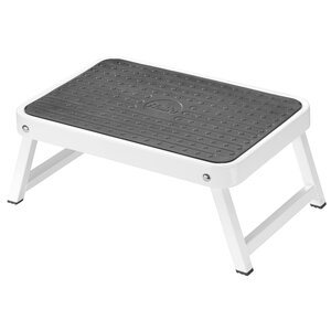 1-Step Steel Step Stool with 330 lb. Load Capacity