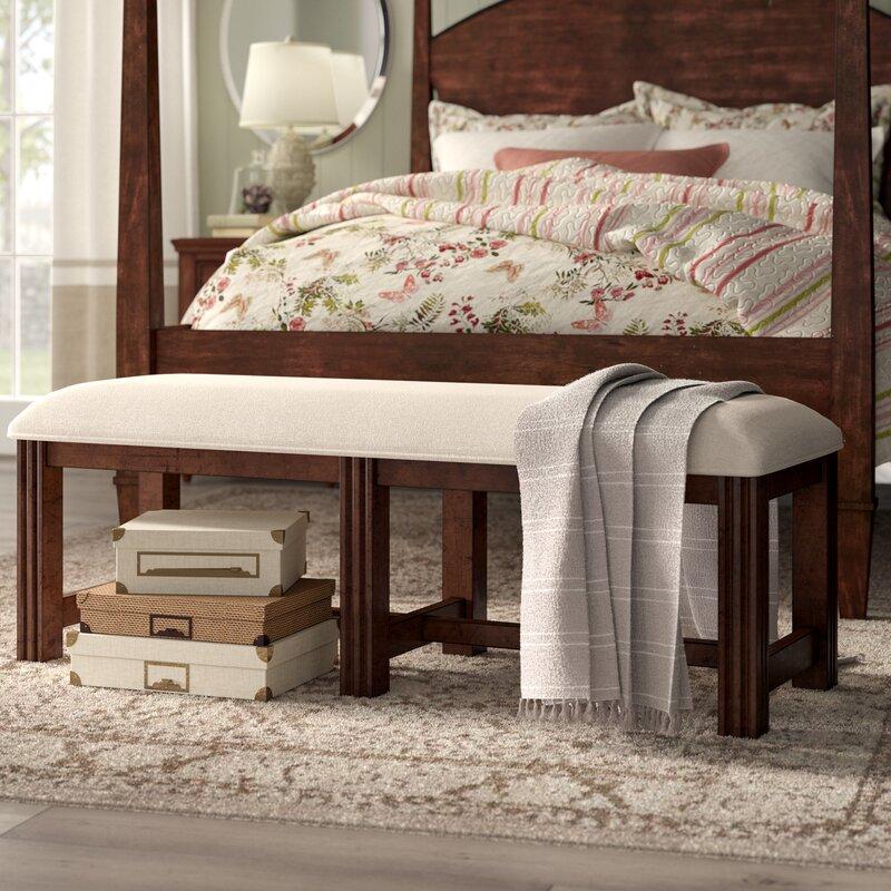 Varian Upholstered Storage Bedroom Bench Birchlane: Birch Lane™ Heritage Schaffer Upholstered Bench & Reviews