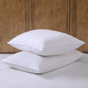 Quilted Feather Pillow (Set of 2) by Alwyn Home