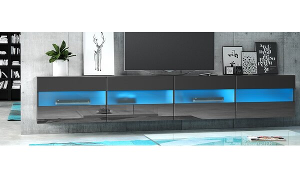 Metro Lane Barton Le Clay Floating Tv Stand For Tvs Up To 77 With