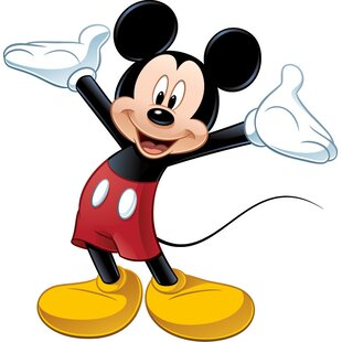 mickey mouse wall decal - Christmas Mickey Mouse