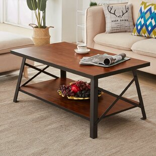 Houon Solid Wood Coffee Table