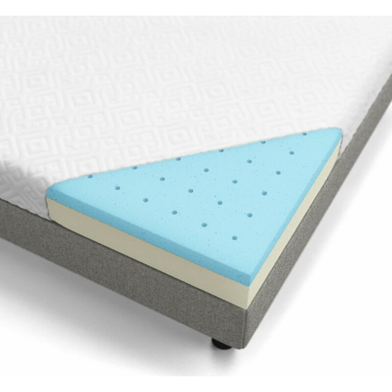 6 Firm Memory Foam Mattress