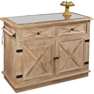 Carter Marble Kitchen Island