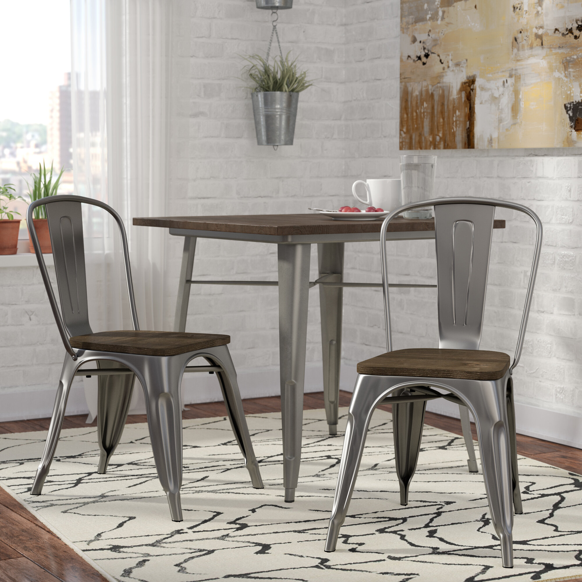 Trent Austin Design Fortuna Solid Wood Dining Chair Reviews Wayfair