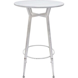 Teixeira Steel Round Pub Table