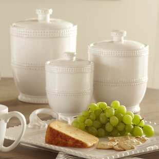 Ordinaire Milford 3 Piece Kitchen Canister Set