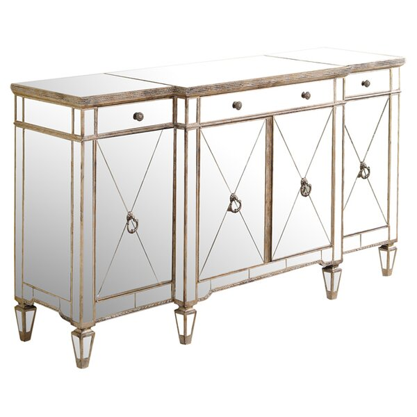 Elegant Mirrored Sideboard U0026 Buffet Tables Youu0027ll Love | Wayfair