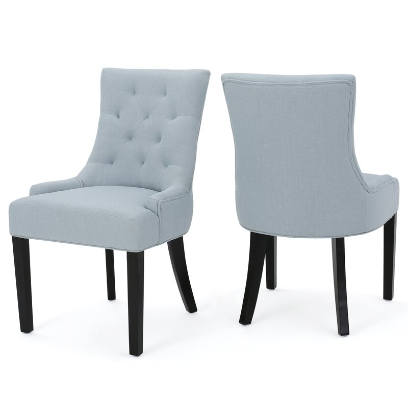 cd7f8cda76f0 Birch Lane™ Heritage Grandview Upholstered Dining Chairs (Set of 2 ...