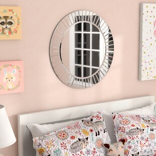 Lidya Frameless Beveled Wall Mirror