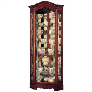 Corner Display Cabinet Jamestown