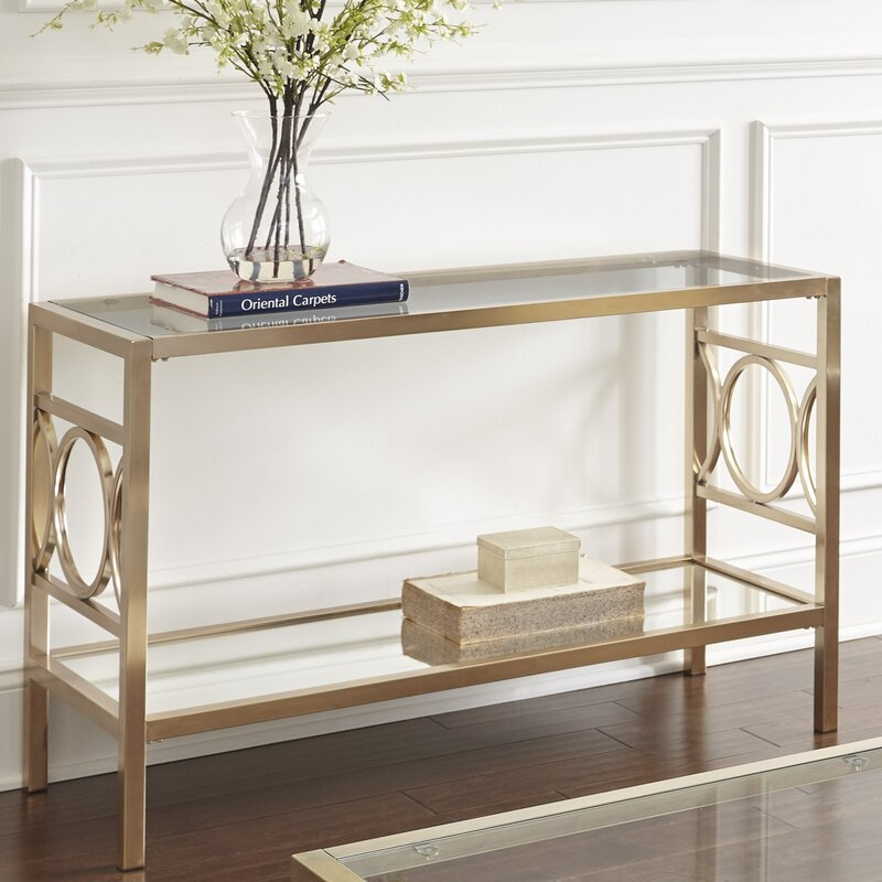 Glam Bedroom Design Photo By Wayfair: Willa Arlo Interiors Astor Console Table & Reviews