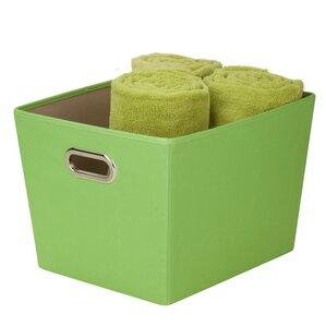 Great Decorative Storage Bin With Handle