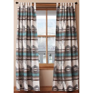 Turquoise And Brown Curtains Wayfair