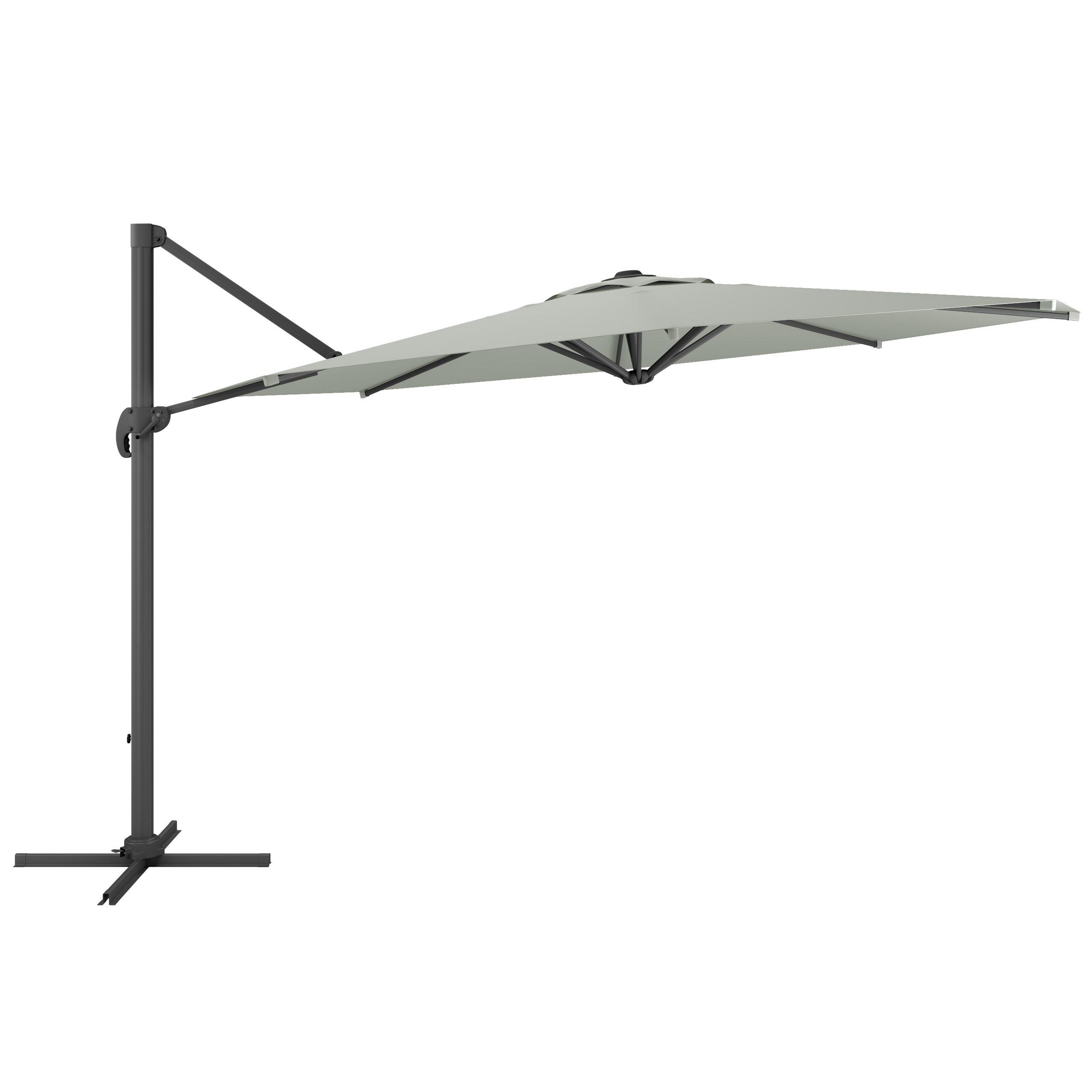 sc 1 st  AllModern & Reid 11u0027 Cantilever Umbrella u0026 Reviews | AllModern