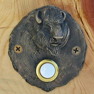 Log End Buffalo Doorbell Button