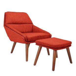Swell Corrigan Studio Ledo Armchair And Ottoman Wayfair Dailytribune Chair Design For Home Dailytribuneorg