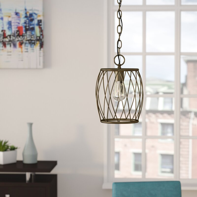 Wrought Studio Poynter 1 Light Mini Pendant Amp Reviews