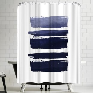 Salmon Colored Shower Curtain