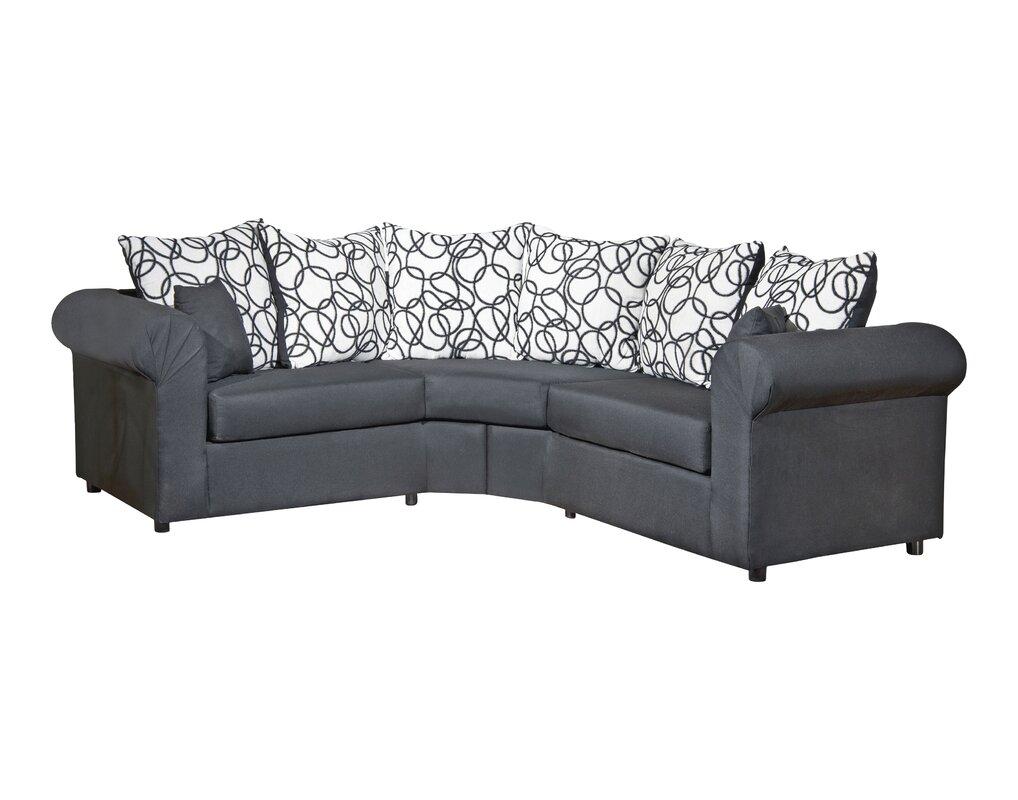 lila sectional reviews birch lane. Black Bedroom Furniture Sets. Home Design Ideas