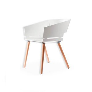 Kubix Solid Wood Dining Chair by Zen Bett..