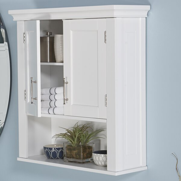 """Bathroom Wall Cabinets andover mills reichman 22.5"""" w x 24.5"""" h wall mounted cabinet"""