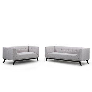 Ontario 2 Piece Living Room Set by Noble House