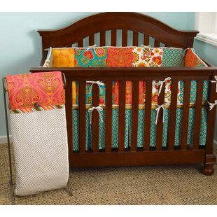 Royston 4 Piece Polka Dot Crib Bedding Set