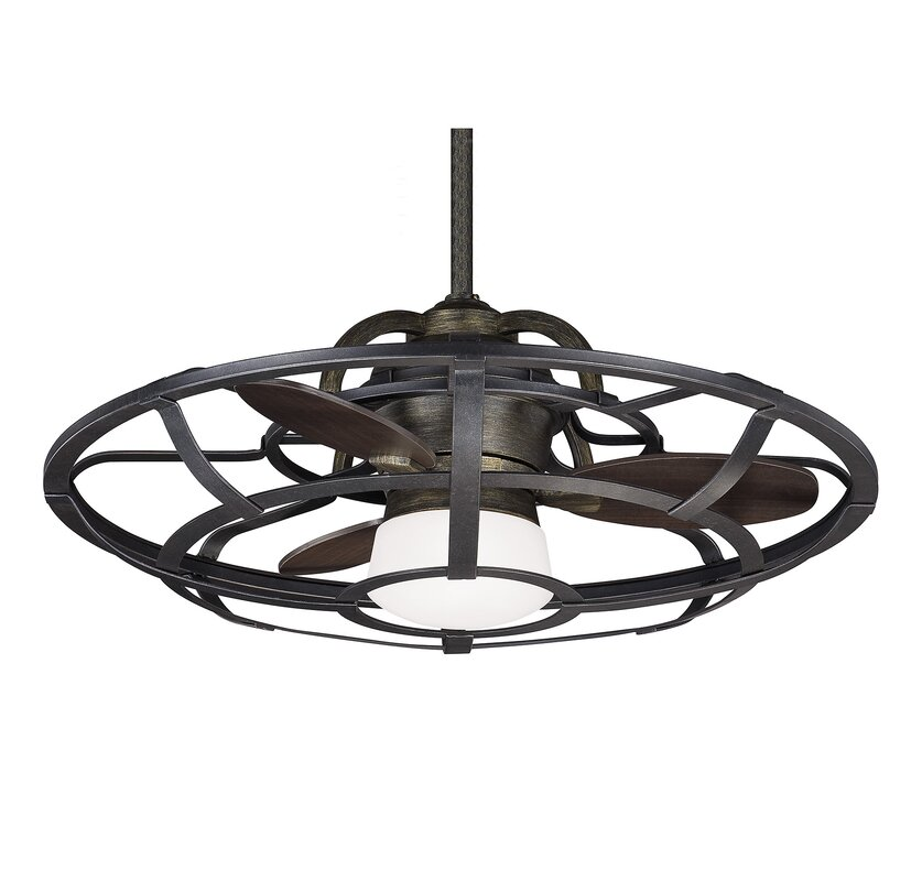26 Wilburton 3 Blade Outdoor Ceiling Fan With Remote
