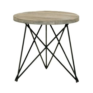 Canvas End Table by Orient..